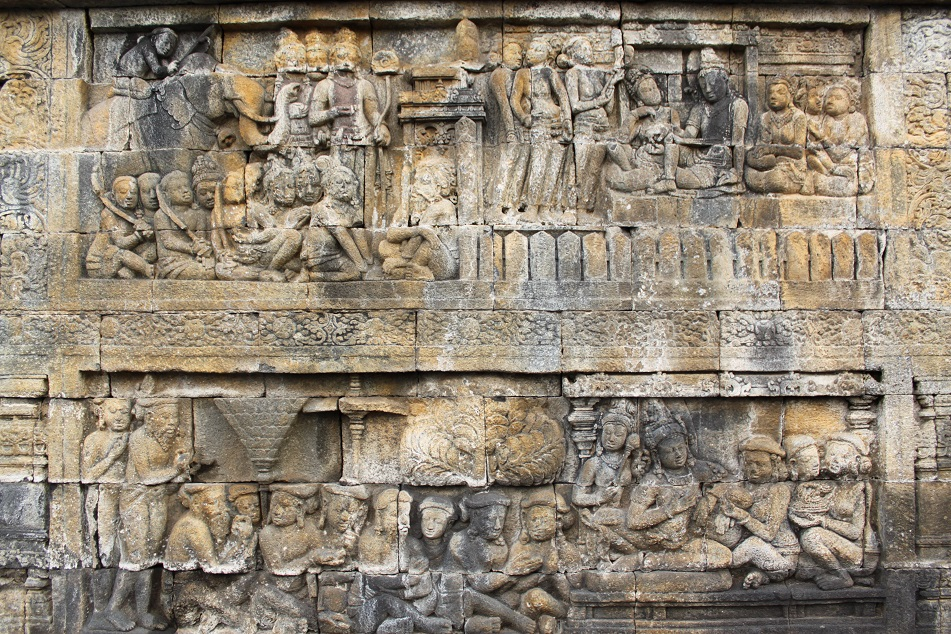 Reliefs Depicting the Life of Siddharta Gautama