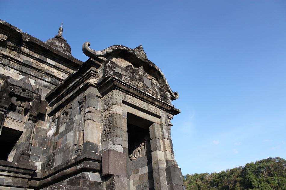 Entrance Decoration to Banyunibo