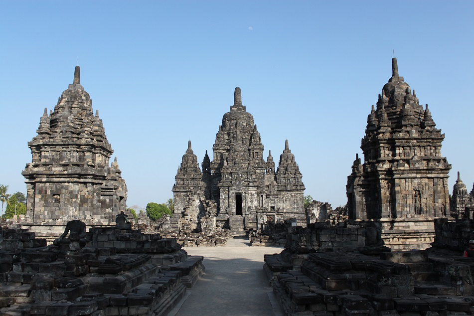 Candi Sewu, the Second Biggest Buddhist Temple in Indonesia