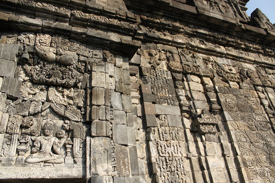 Kala, Dwarf and Floral Patterns, Ubiquitous in Javanese Hindu-Buddhist Temples