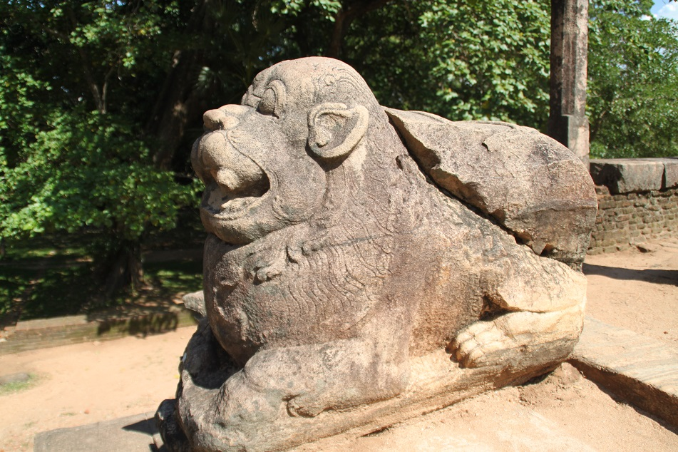 Lion, A Symbol of the Sinhalese People