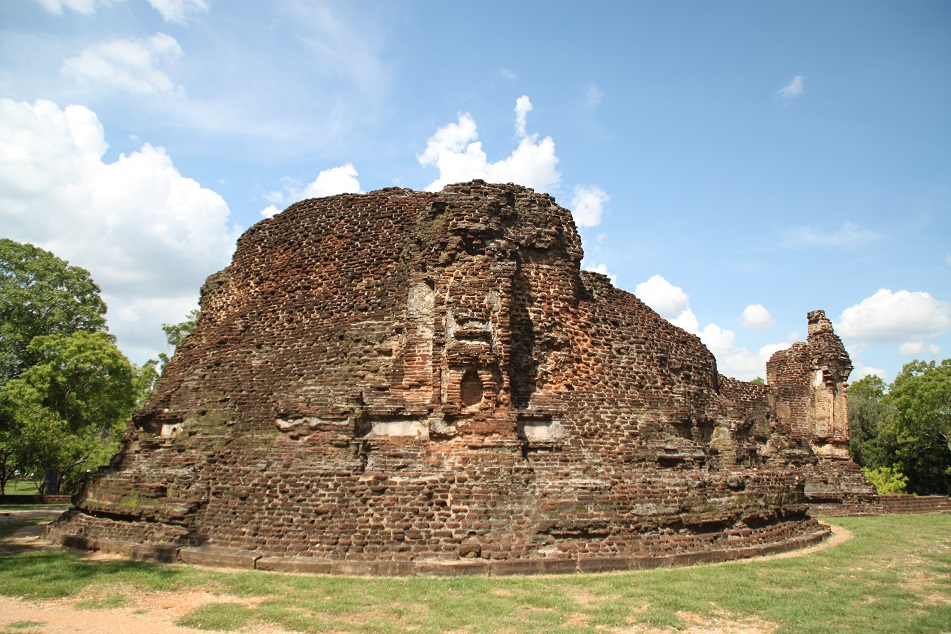 What Remains from An Old Temple