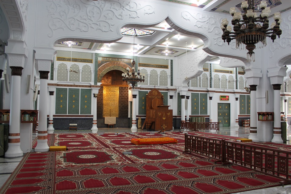 The Front Part of the Prayer Hall