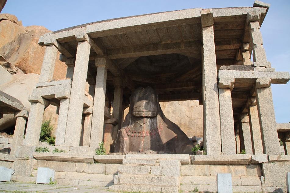 Eduru Basavanna (Monolithic Bull)