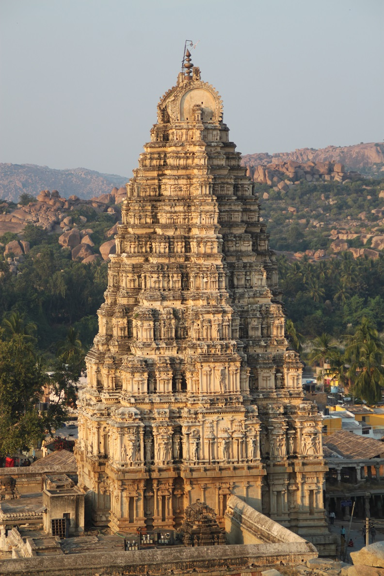 The East Gopuram of Virupaksha Temple