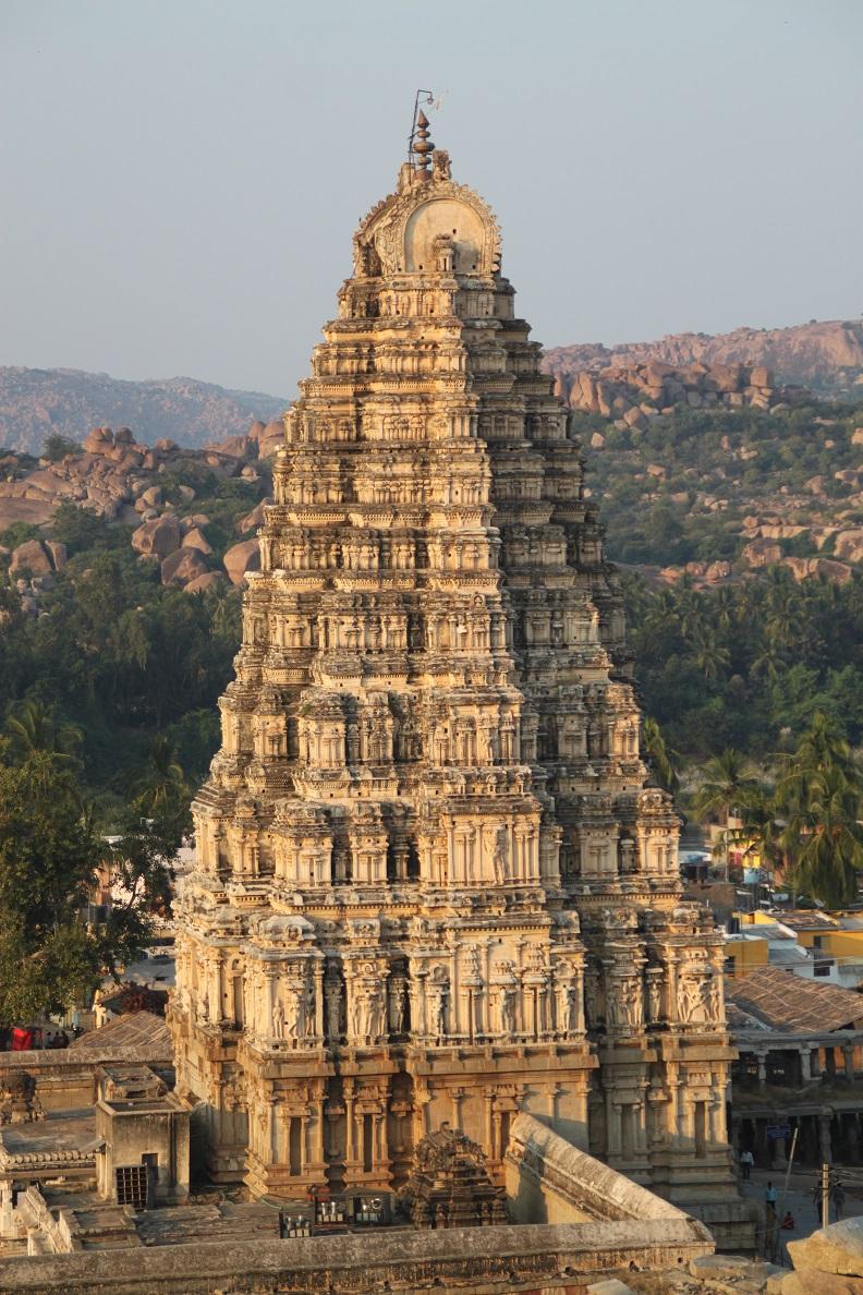 The East Gopuram of Virupaksha Temple