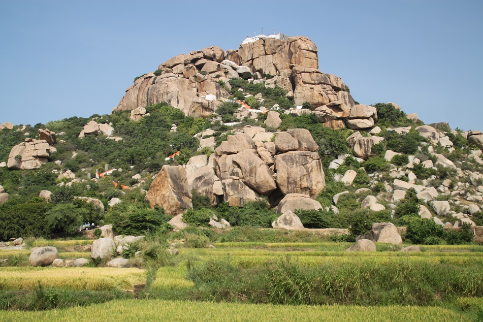 Hanuman Temple on Top of Anjanadri