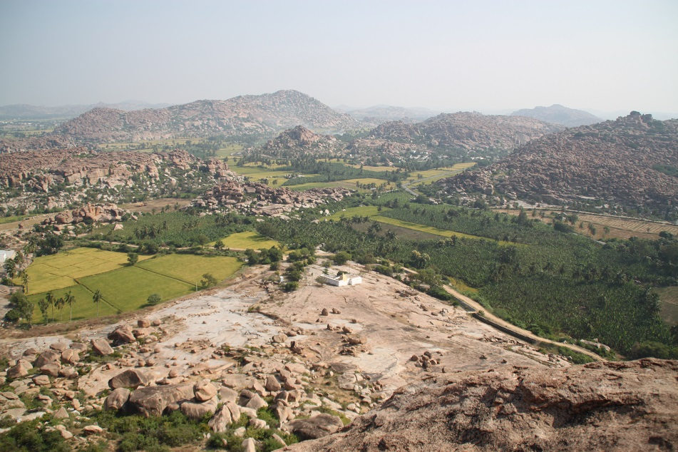 View of the Boulder-Studded Plain from Anjanadri