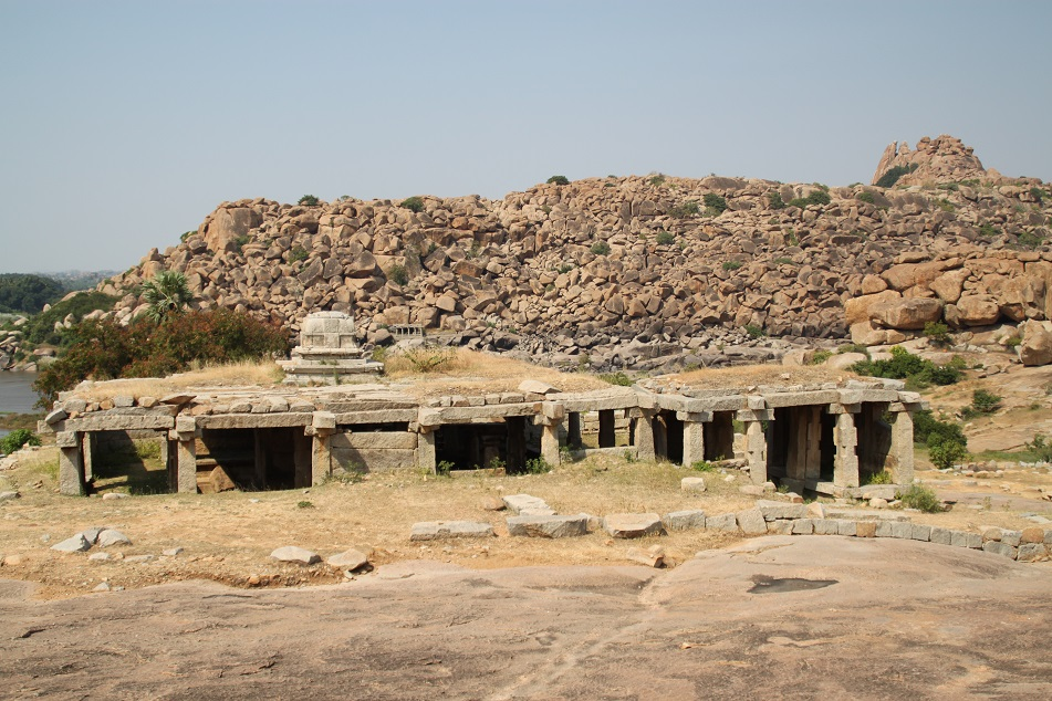 View from Narasimha Temple at the Sacred Center