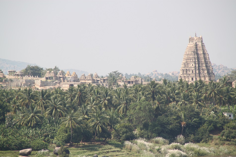 Virupaksha Temple Viewed from Narasimha Temple