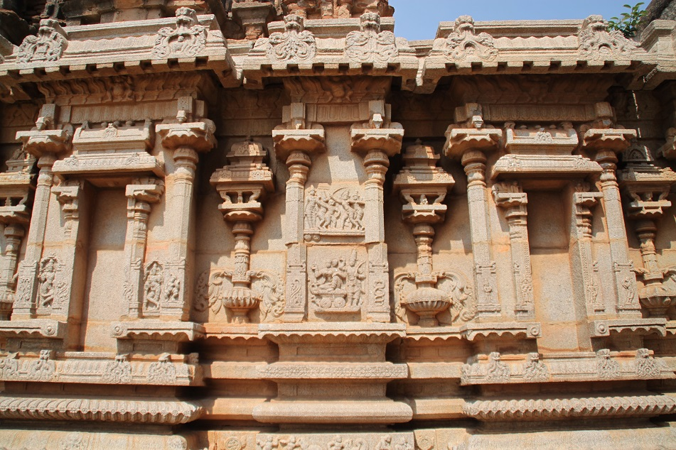 Wall Reliefs at Hazara Ramachandra Temple