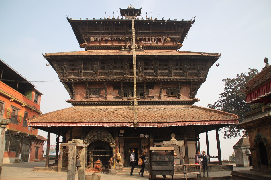 Only Nepalese are Allowed Inside the Temple