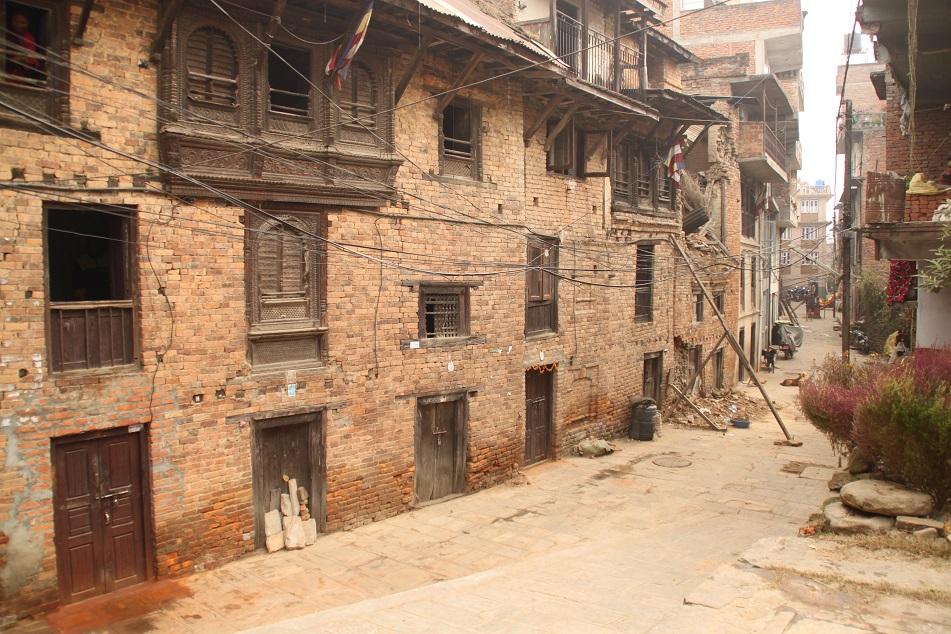 Street of Kirtipur