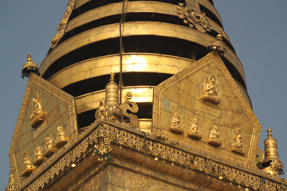 Gilded Pinnacle of Swayambunath