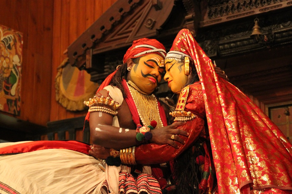 Bhima and Draupadi
