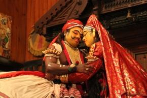 Bhima and Draupadi