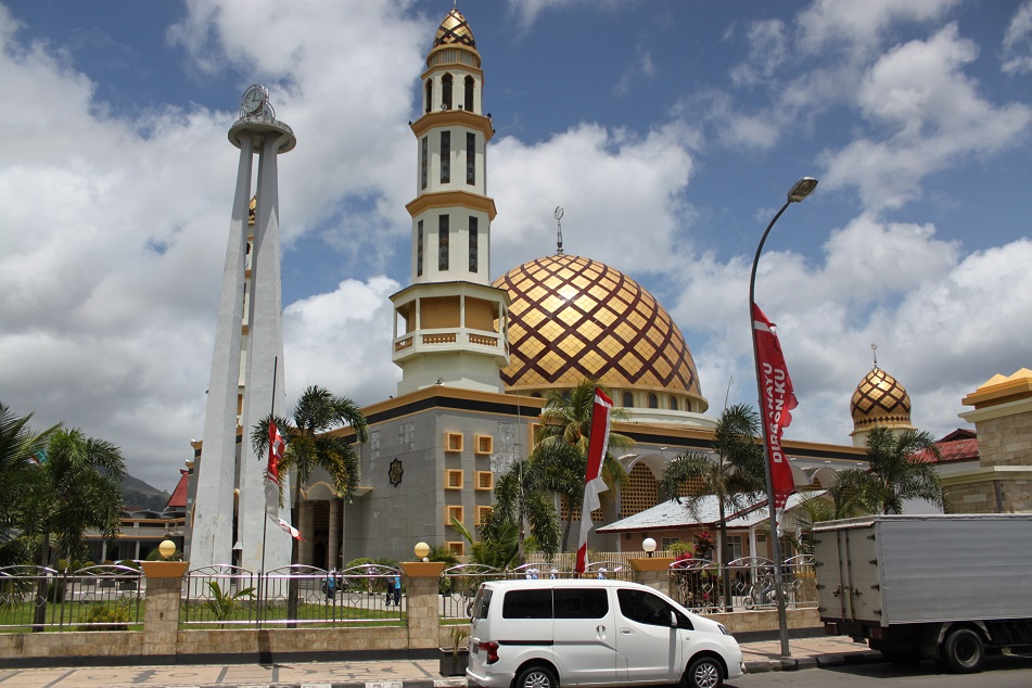 Biggest Mosque in Ambon