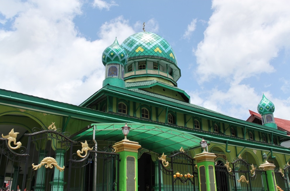 A Green Mosque Nearby