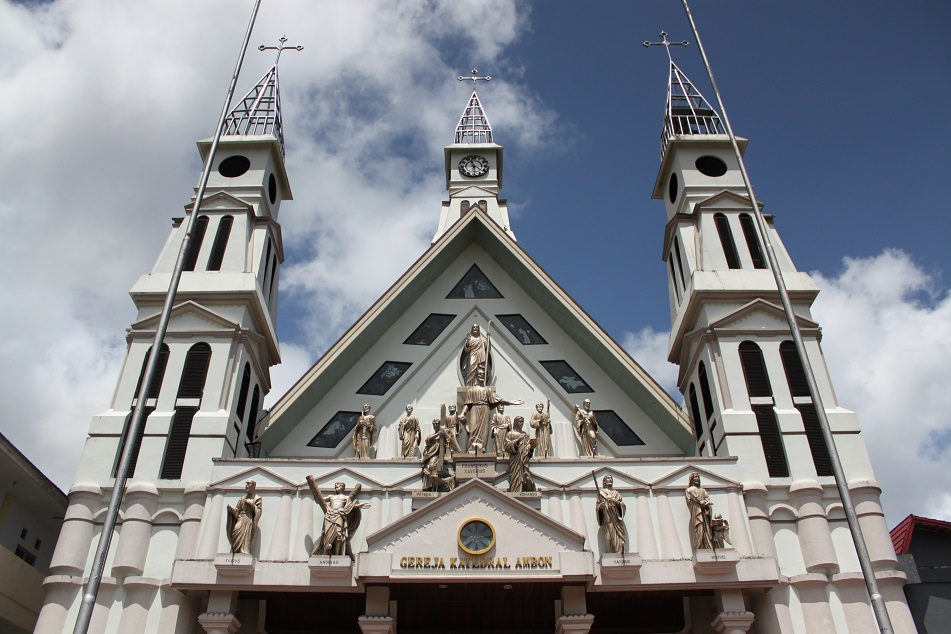 Ambon's Cathedral