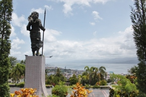 Ambon Viewed from Christina Martha Tiahahu Monument
