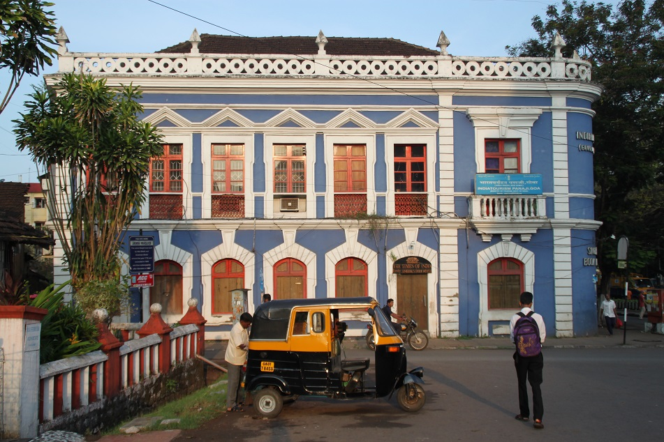 An Old Colonial Building in Panaji (Panjim)