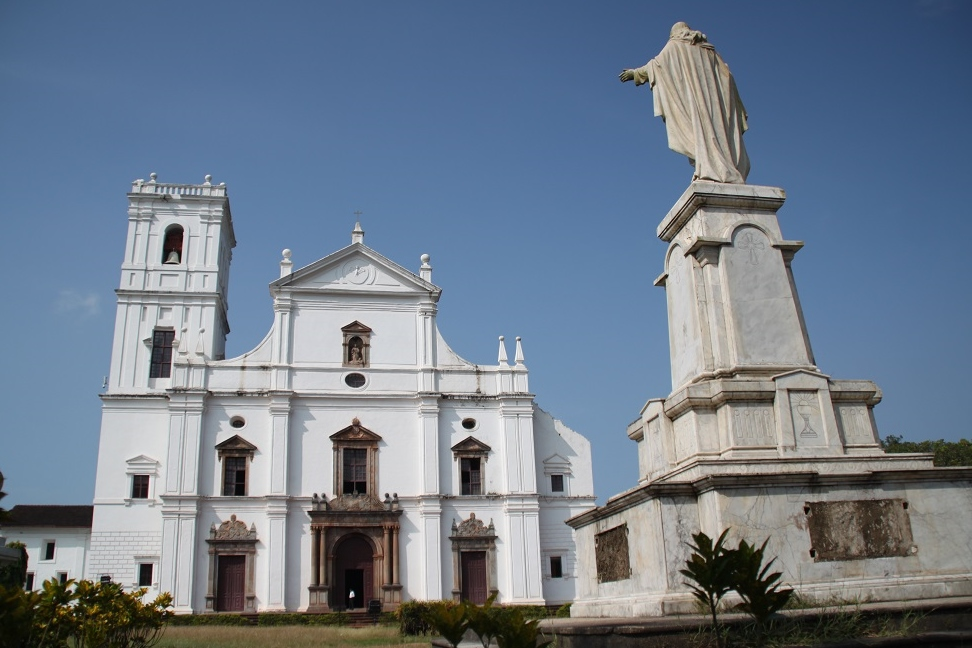 The 17th-Century Se Cathedral in Old Goa