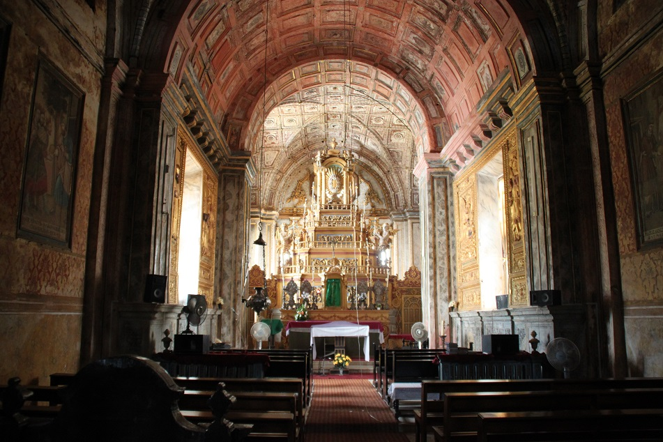 A Locked Altar inside the Cathedral