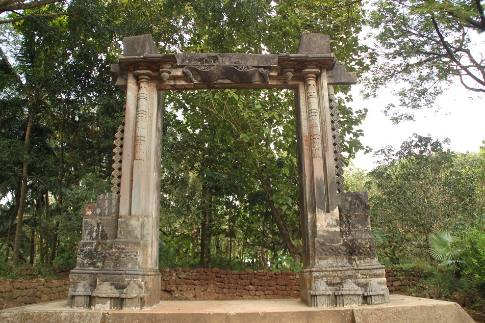 What is Left from the Palace of Adil Shah, the Former Muslim Ruler of Goa