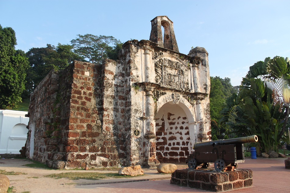 Porta de Santiago, the Only Surviving Part of A Famosa