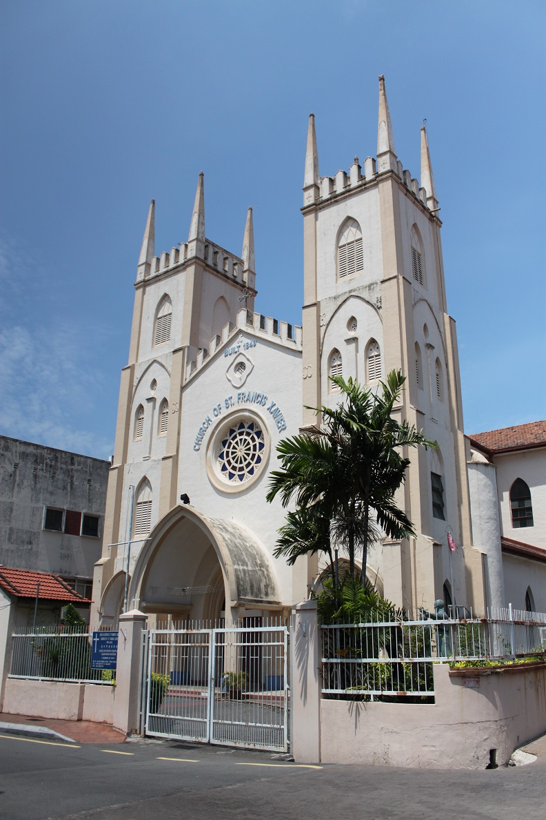 The 19th-Century Church of St. Francis Xavier