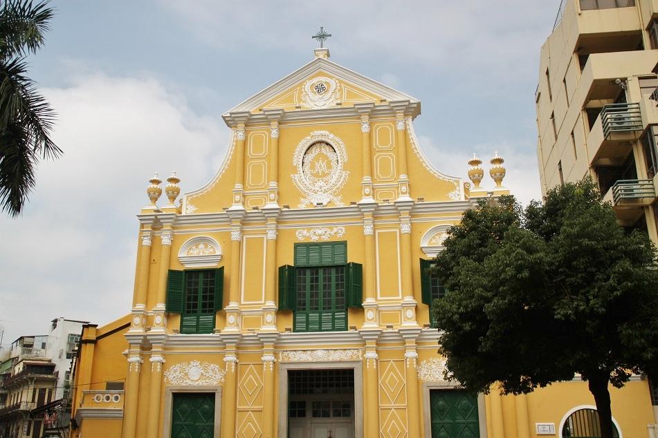 A Church near Senado Square