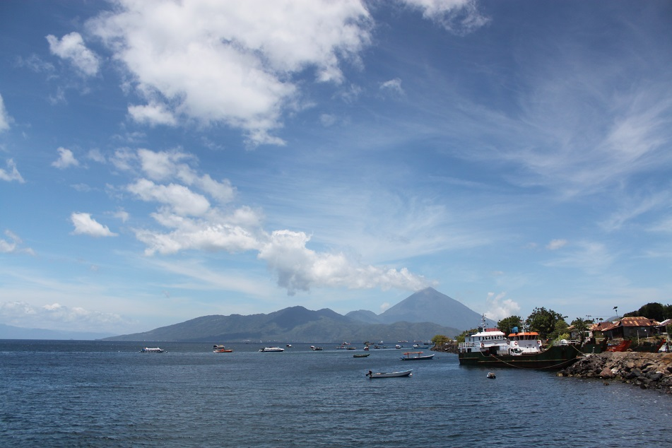 Tidore seen from Ternate
