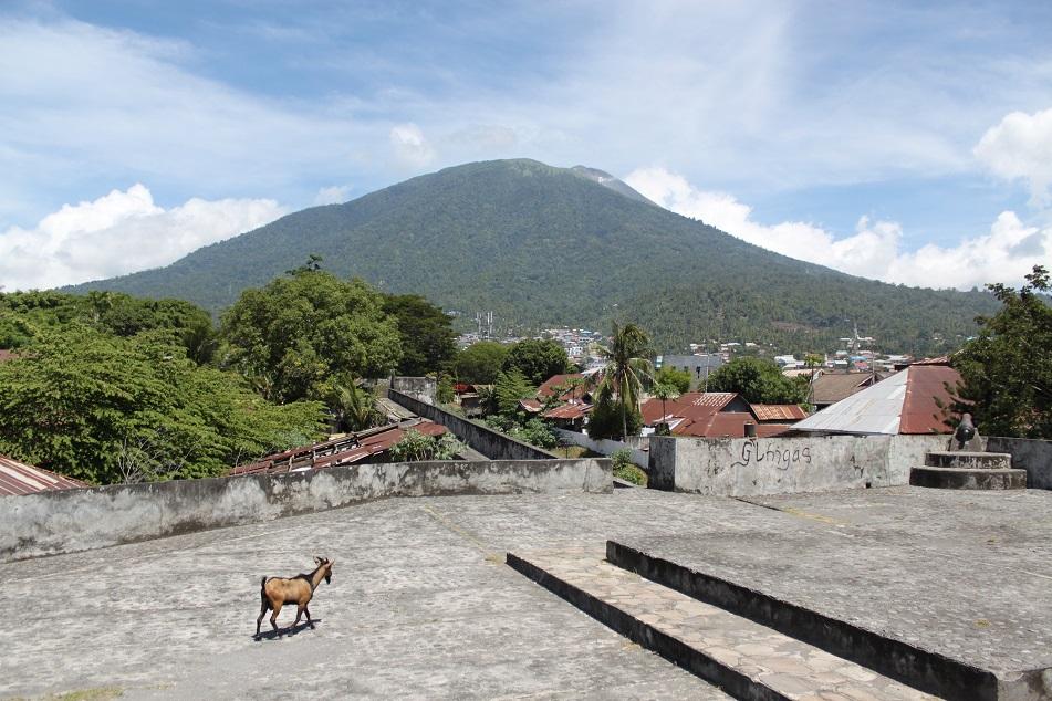 Ternate's Mount Gamalama