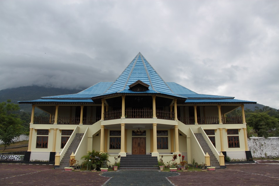 The Royal Palace of Tidore under An Overcast