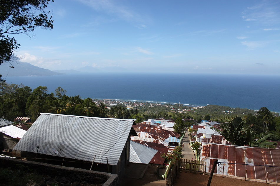View of Ternate