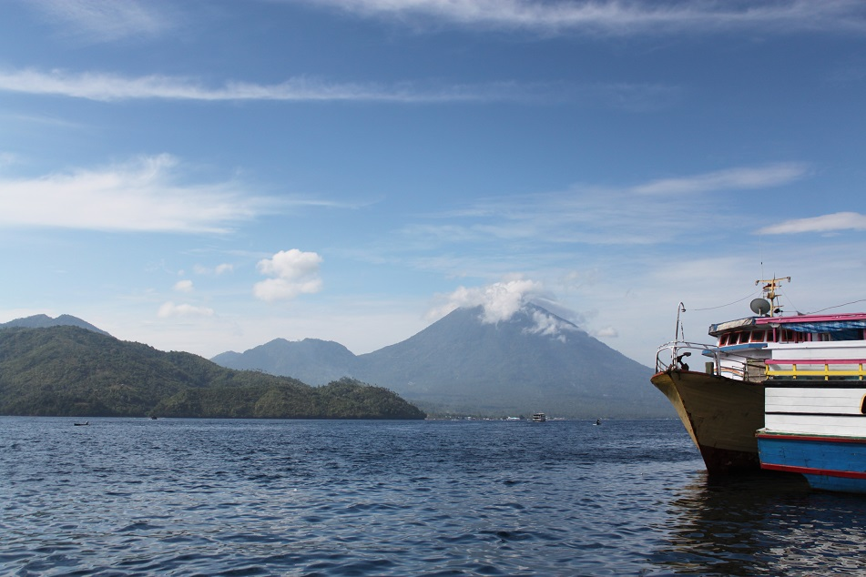 Tidore, Seen from Ternate