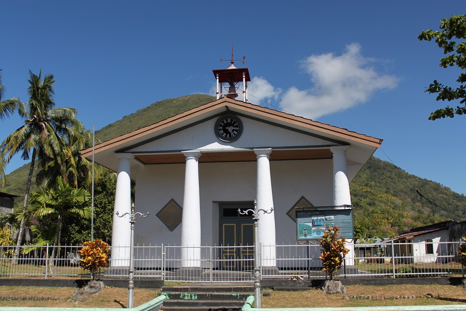 An Old Church in Banda Neira