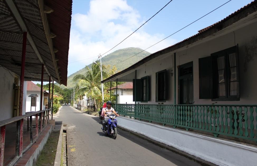 A Street in Banda Neira