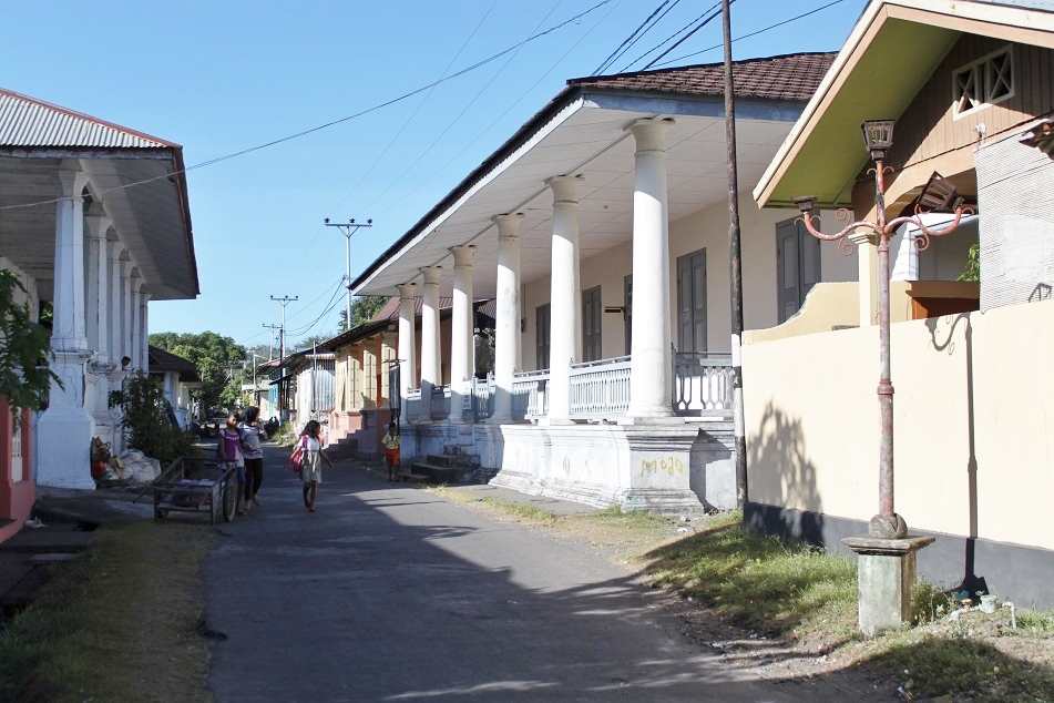 The Main Street on the Island