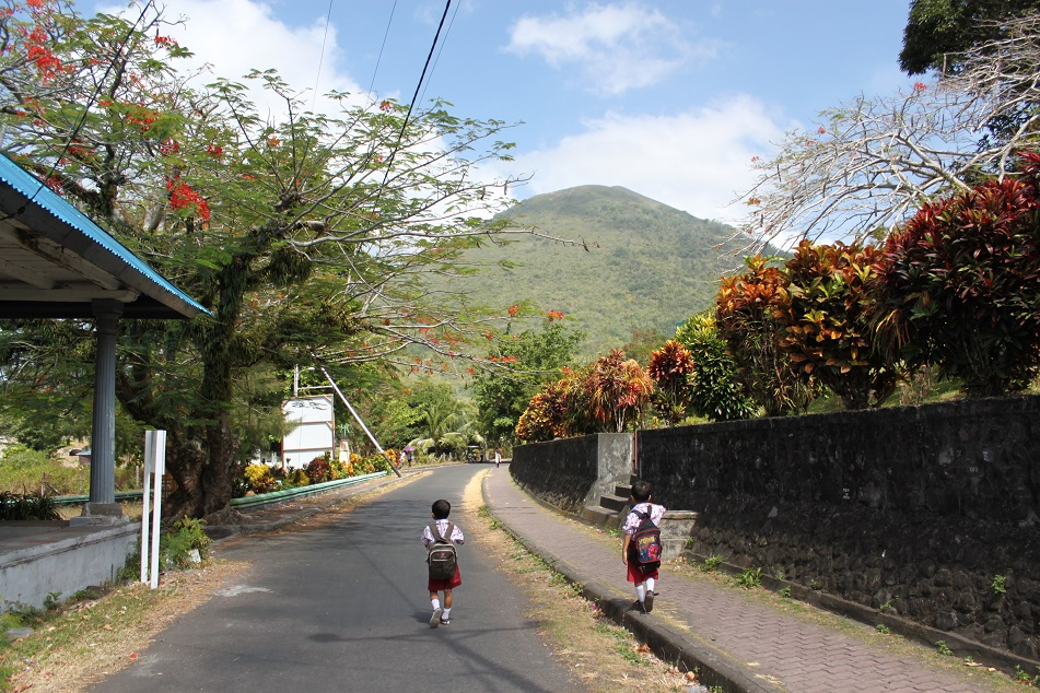 School Kids on Banda Neira