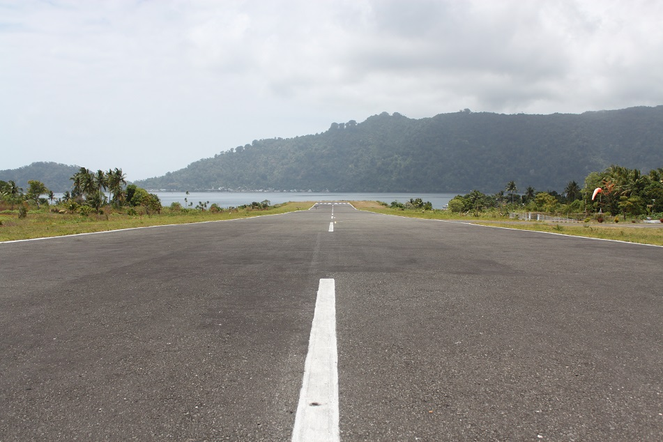 The Sole Airstrip in the Banda Islands