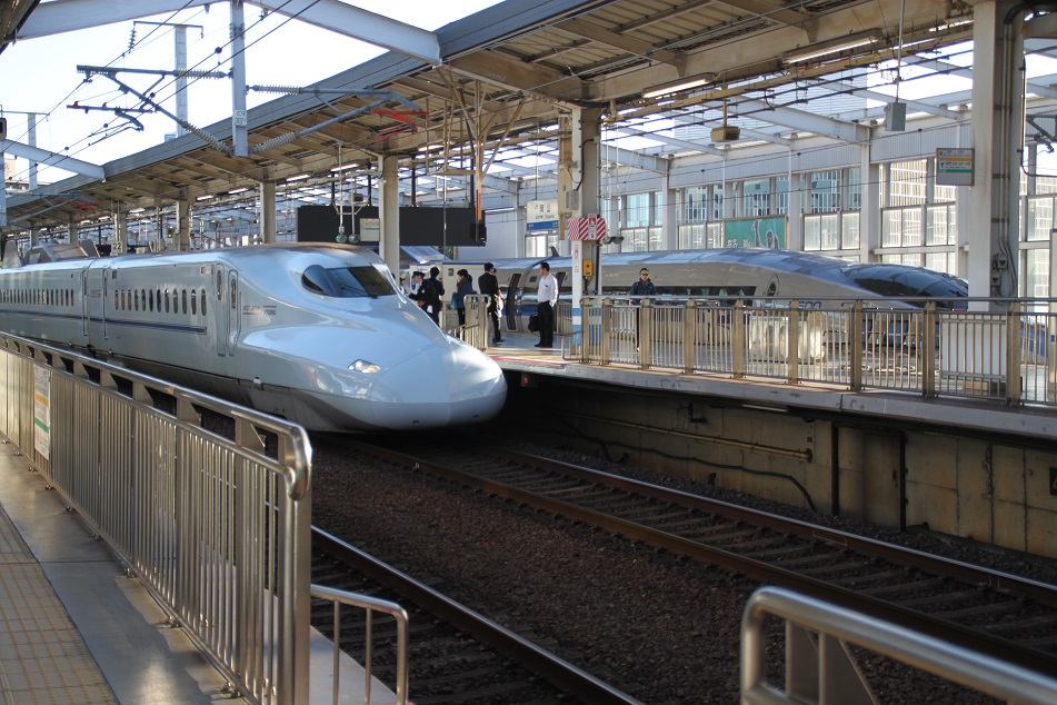 Futuristic-Looking Shinkansen Bullet Train