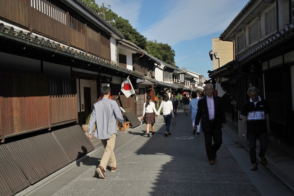 A Street at Bikan Historical Quarter, Kurashiki