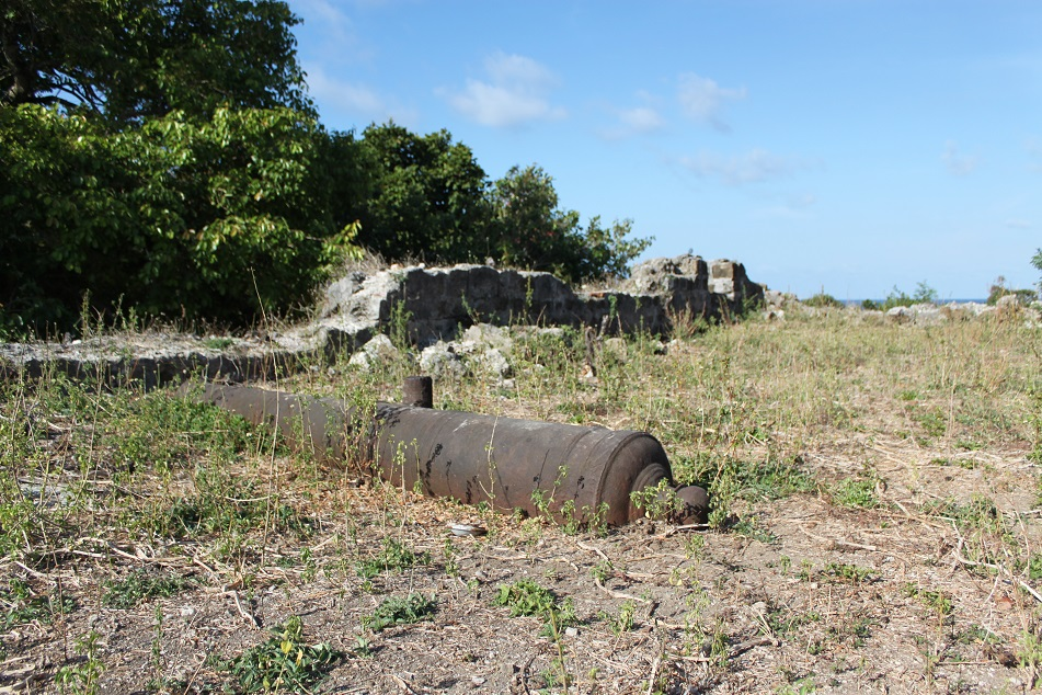 An Old Cannon at Fort Revenge