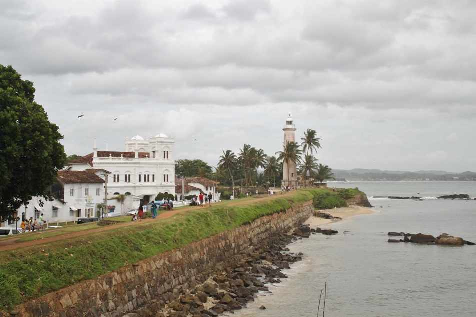 The Promontory on which Galle Fort was Constructed