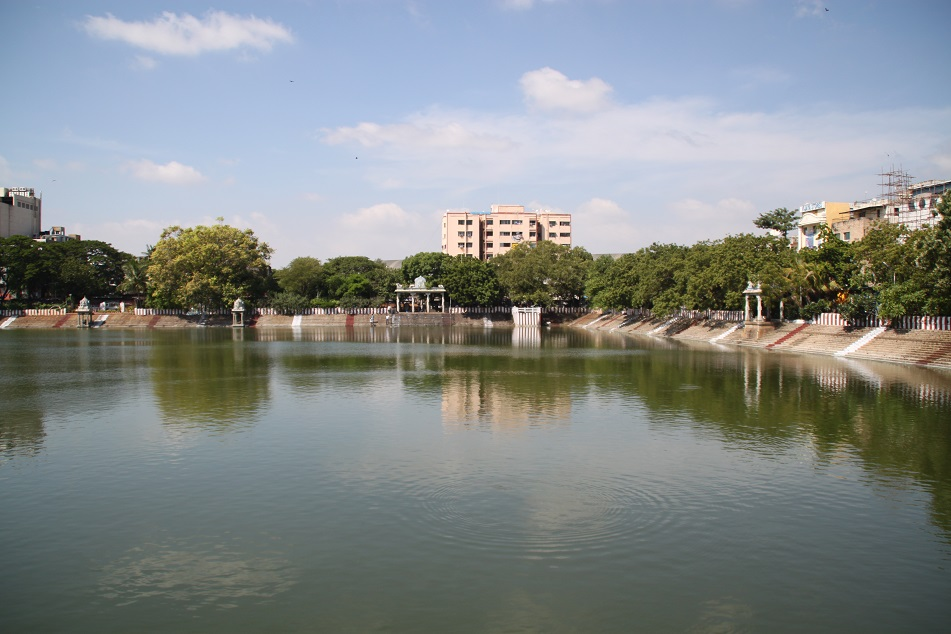 The Small Reservoir behind the Temple