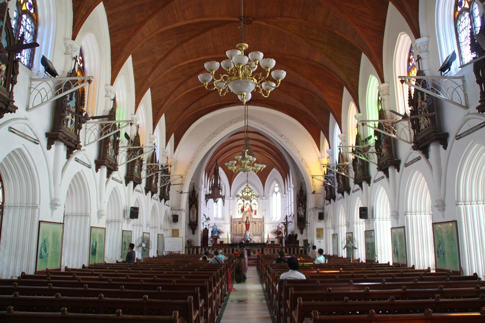 Inside the Church (?)