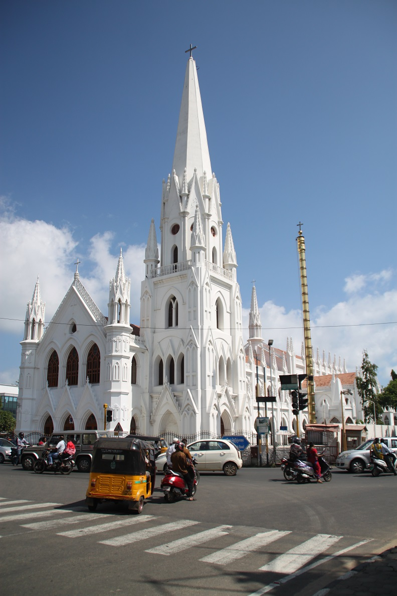 A Sanctuary for Chennai's Catholics
