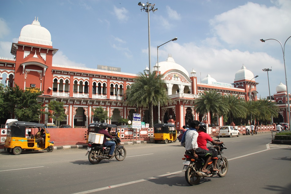 Chennai Eggmore Train Station