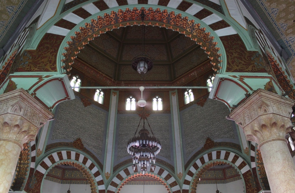 Different Architectural Elements of the Mosque